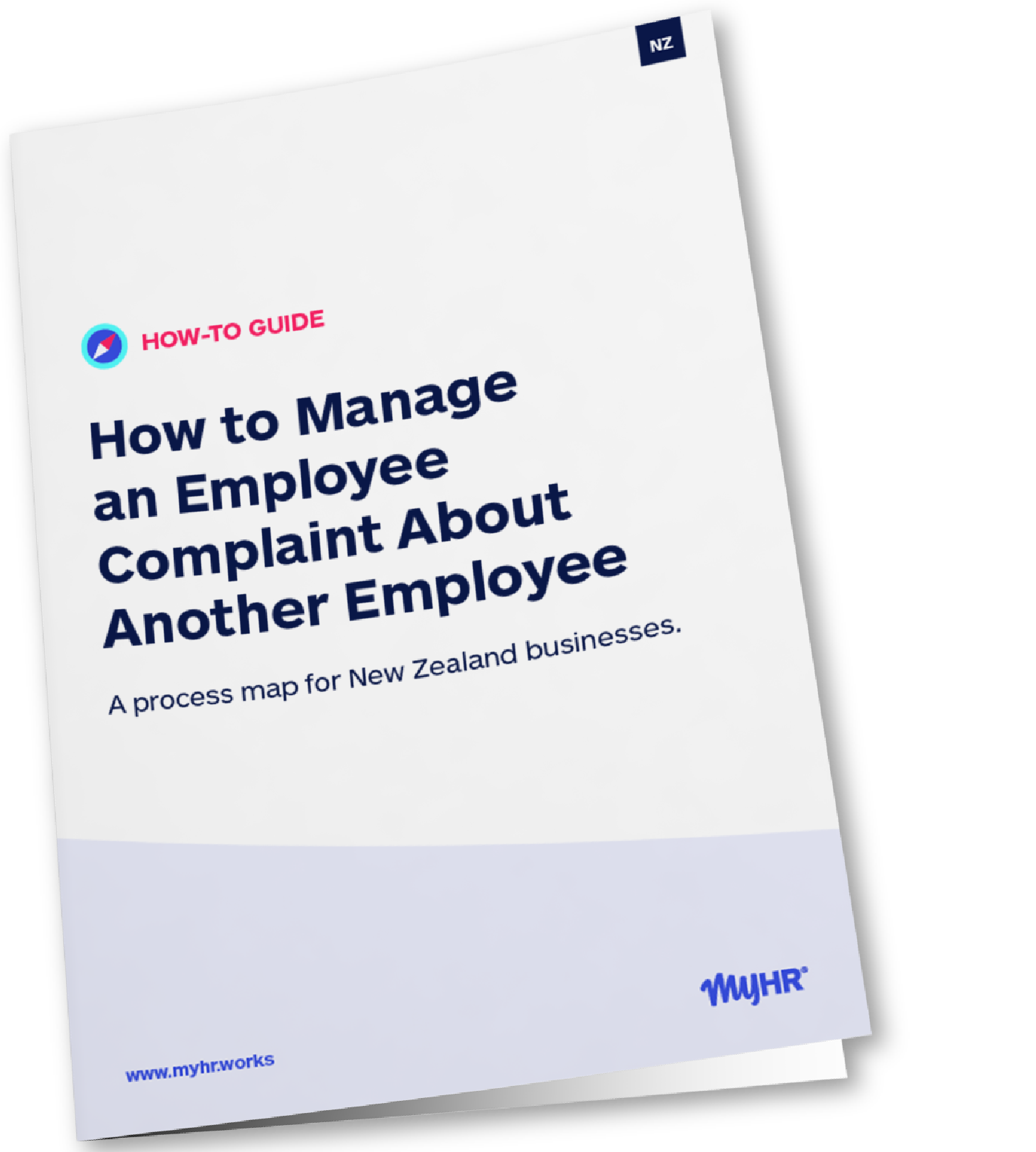 MyHR_NZ How to Manage an Employee Complaint About Another Employee Mockup